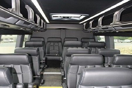 Luxury Sprinter Coach Interior