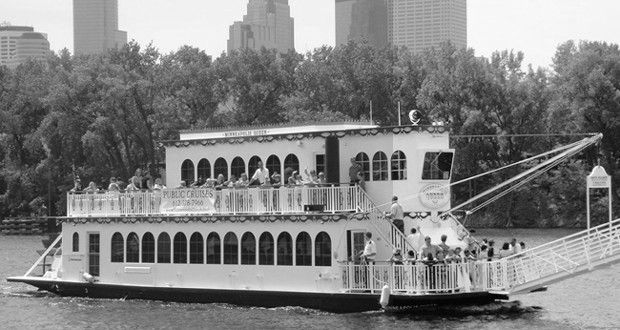 MINNEAPOLIS RIVERBOAT AND BUS TOUR