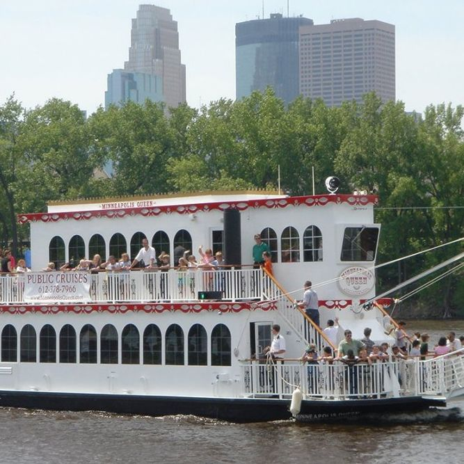 Minneapolis Riverboat & Bus